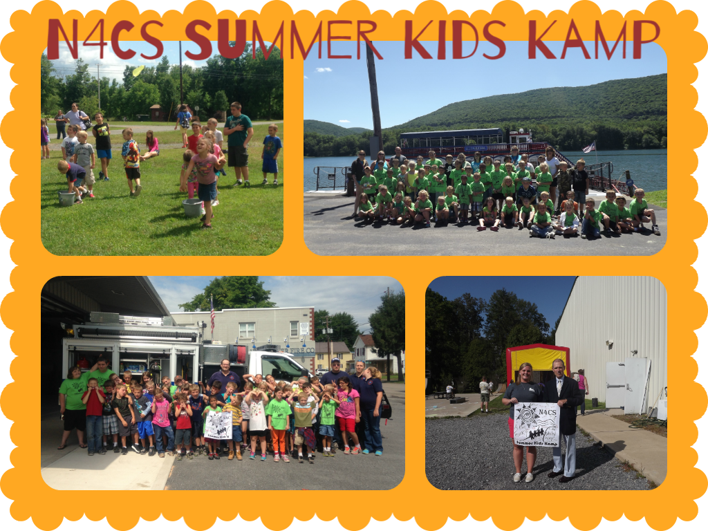 Kids Kamp Collage
